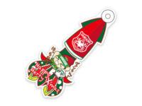 株式会社ヴァンラーレ八戸様のクリスマスヴァージョンキーホルダーのアイキャッチ画像です。